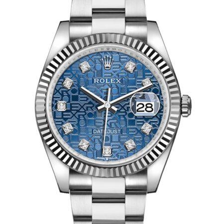 Rolex Datejust 126234 36mm Com caixa de relógio de aço inoxidável 904L Oystersteel - keeperwatches