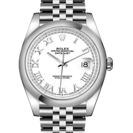 Rolex Datejust 126200 36mm Com Caixa De Relógio De Aço Inoxidável Oystersteel 904l - keeperwatches