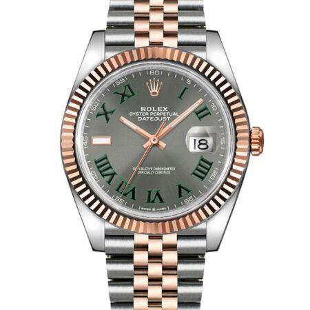 Rolex Datejust 126331 41mm Com caixa de relógio de aço inoxidável Oystersteel - keeperwatches