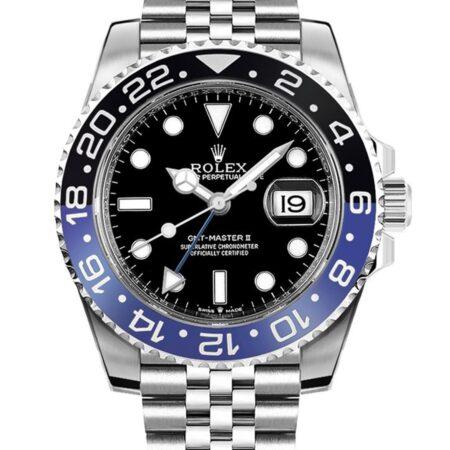Rolex GMT-Master II 126710BLNR 40mm Relógio Com Caixa Em Aço Inoxidável 904l Oystersteel - keeperwatches
