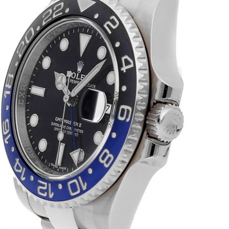Rolex GMT-Master II 116710BLNR 40mm Com Estojo Para Relógio De Aço Inoxidável 904L Oystersteel - keeperwatches