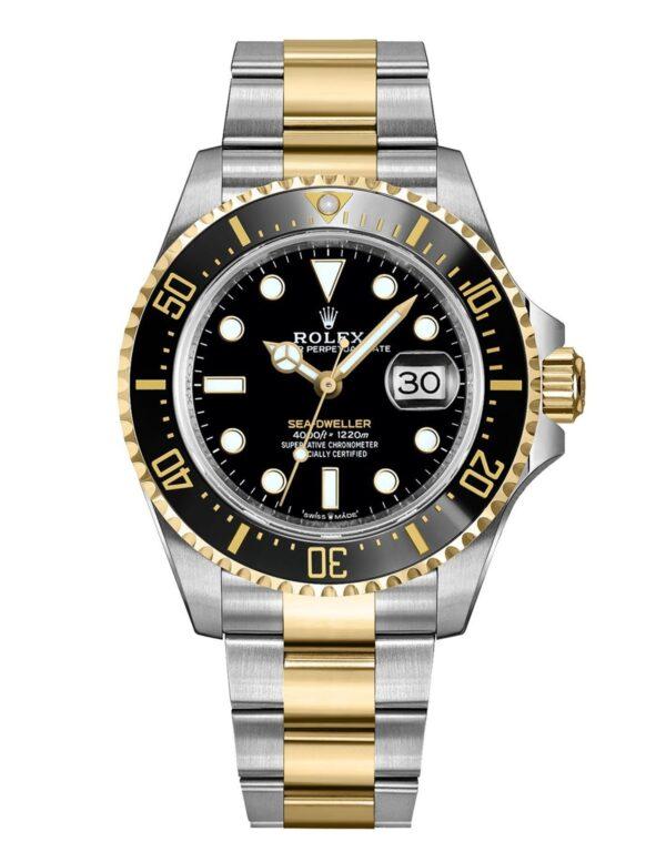 Rolex Sea-Dweller 126603 43mm Com Caixa De Relógio De Aço Inoxidável 904l Oystersteel - keeperwatches